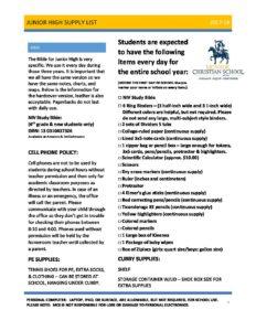 Parent Teacher Conferences - No School