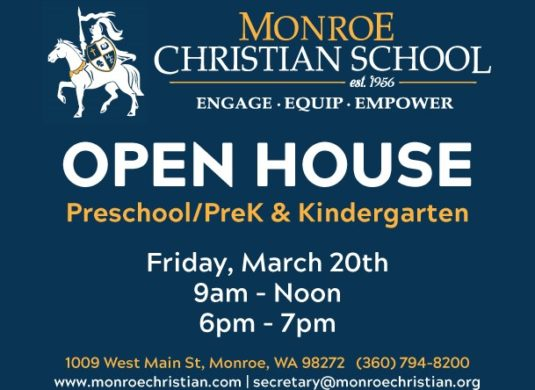 Open House for PS, PK and Kindergarten!